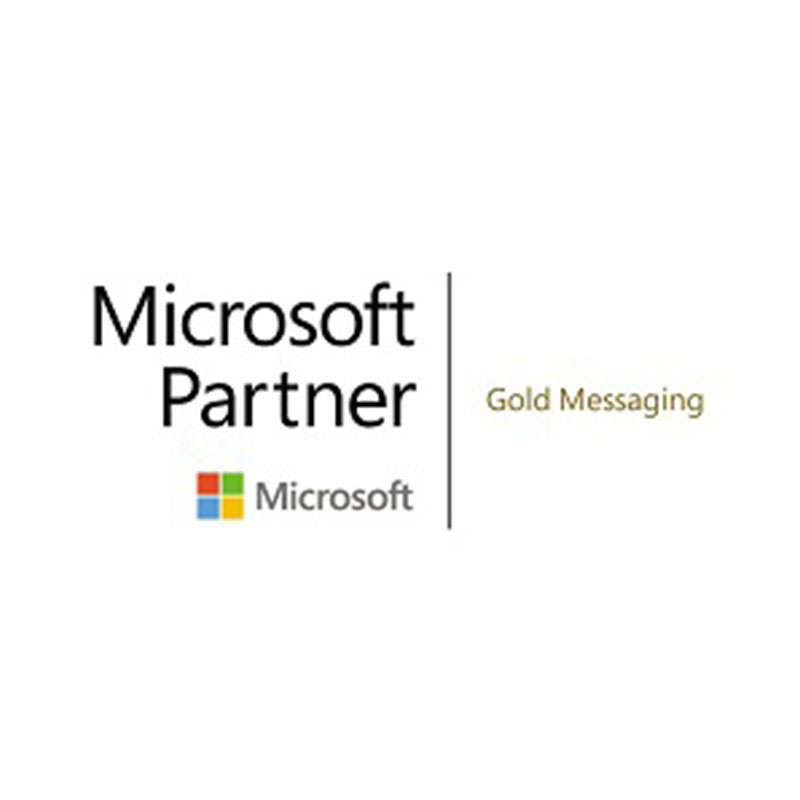 Microsoft partner gold messaging