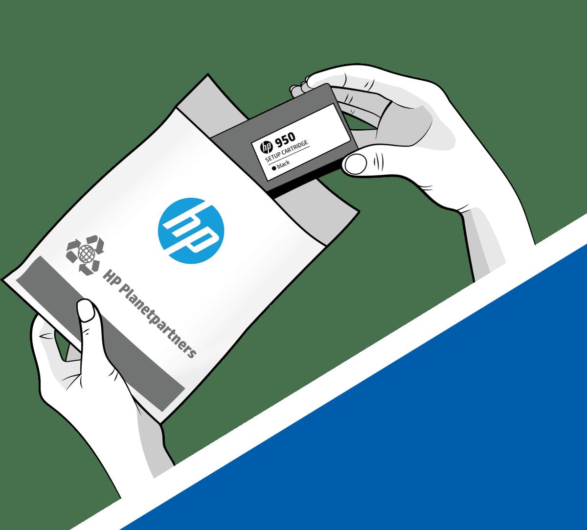 Recyklujte inkoustové i tonerové kazety HP v rámci programu HP Planet Partners.