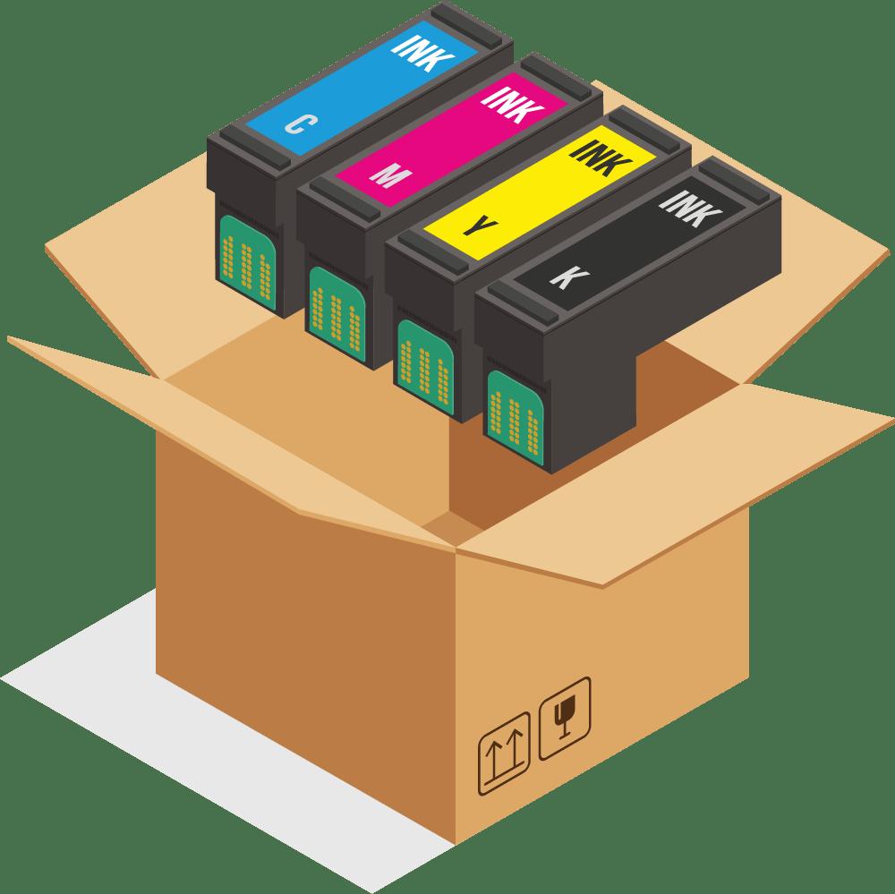 Krabice s tonery